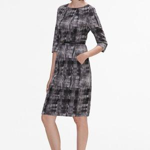 MM Lafleur • Etsuko Scratch Plaid Dress